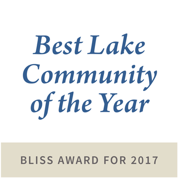 best lake community of the year