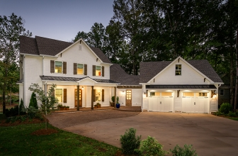 Southern Living Inspired Model Home