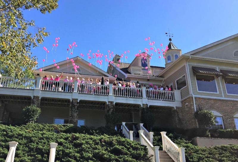 Harbor Club Ladies Give Back: Pink Ribbon Golf Tournament Supports Lydia Project