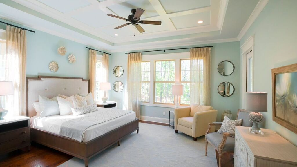 See the Latest Design Trends in Our Newest Model Home on Model Bedroom Design  id=65843